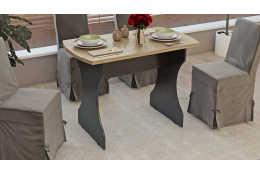 Стол обеденный на деревянных ножках Турин СМ-206.03.21