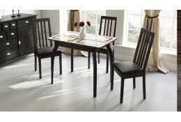 Стол обеденный раздвижной на деревянных ножках Рим СМ-218.01.15