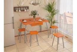 Стол кухонный большой с ящиком (столешница МДФ)