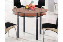 Стол обеденный из стекла - 8