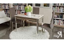 Стол обеденный на металлических ножках Палермо