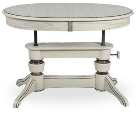 Обеденный стол Лира-5 патина