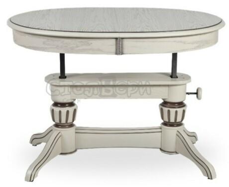 Обеденный стол Лира-11 патина