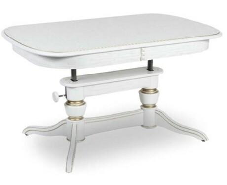 Обеденный стол Лира-4 патина